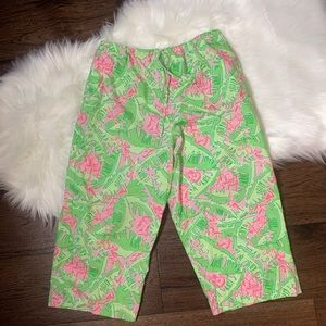 Lilly Pulitzer Capri Pajama Bottoms Large